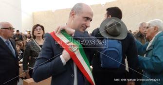 Lamezia, il commissario Fusaro all'inaugurazione della Chiesa di San Benedetto