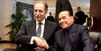 Vito Bardi e Silvio Berlusconi