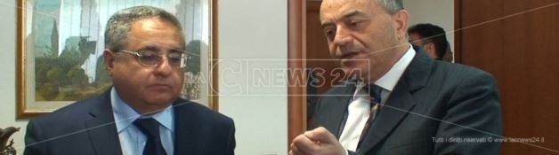 Vincenzo Salomone e Nicola Gratteri