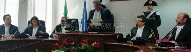 L'inaugurazione del Tribunale amministrativo regionale