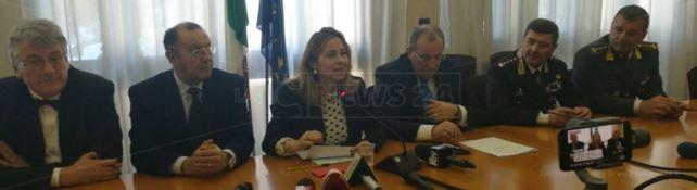 Il ministro Grillo a Reggio Calabria