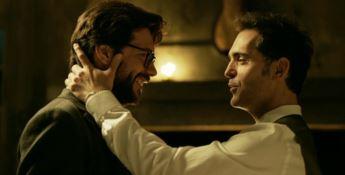 La scena della Casa di carta quando i protagonisti cantano Bella Ciao