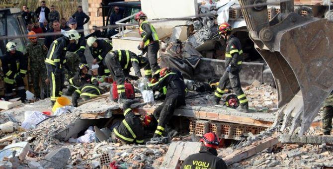 Terremoto in Albania, foto Ansa