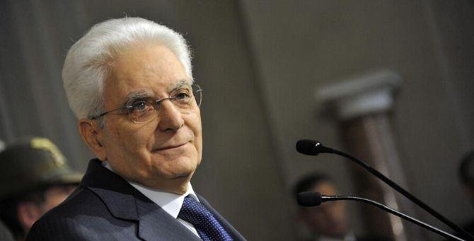 Il capo dello Stato Sergio Mattarella