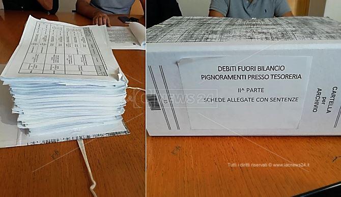 I debiti del Comune di Cosenza