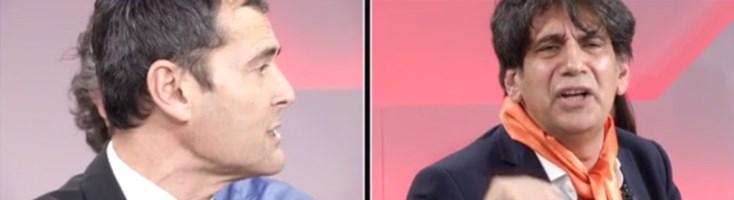 Francesco Sapia e Carlo Tansi
