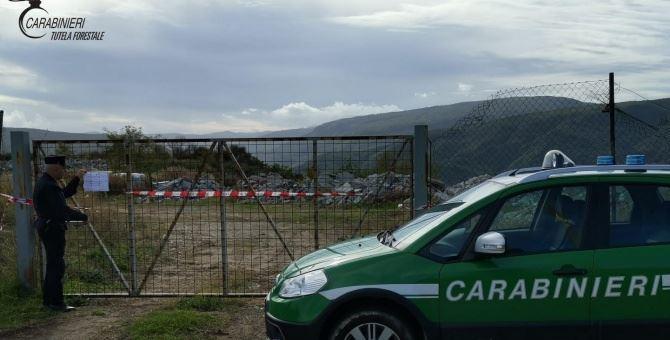 Sequestro discarica a Caloveto
