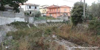 Il torrente Castace a Catanzaro