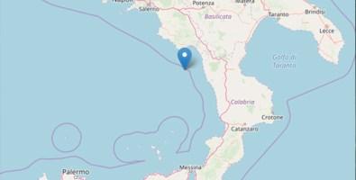 La Calabria trema: scossa 3.7 in corrispondenza di Scalea
