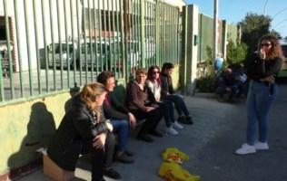 Siderno, senza stipendio da mesi: anche le mogli accanto ai lavoratori in protesta