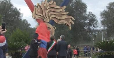 Vibo ha il suo eroe: inaugurato il monumento a Gaetano Miscia