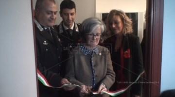 Soverato, nella caserma dei carabinieri una stanza per le vittime di violenza