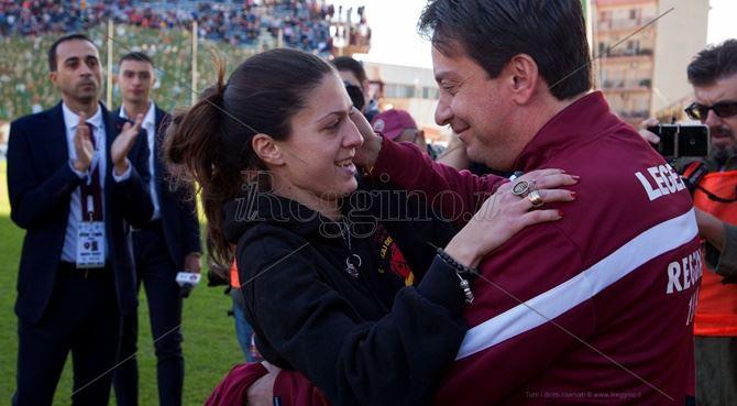 Reggina-Casertana nel ricordo di Nino, l'omaggio della squadra amaranto