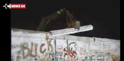 Il crollo del Muro di Berlino