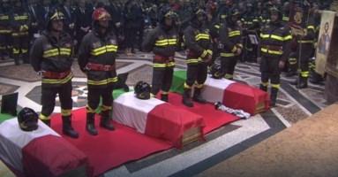 Vigili del fuoco morti ad Alessandria, firmato il decreto per i benefici agli eredi