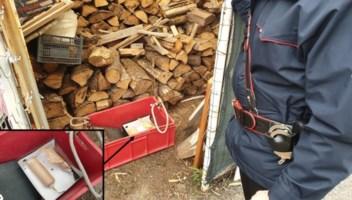 Due ordigni artigianali rinvenuti in una legnaia a Nocera Terinese