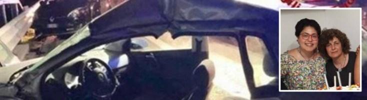 Tragico incidente sull'autostrada Salerno-Caserta, muoiono madre e figlia vibonesi