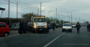 Grave incidente sulla statale 18 a Belvedere, un ferito