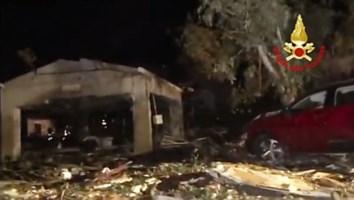 Esplosione in una fabbrica nel Messinese