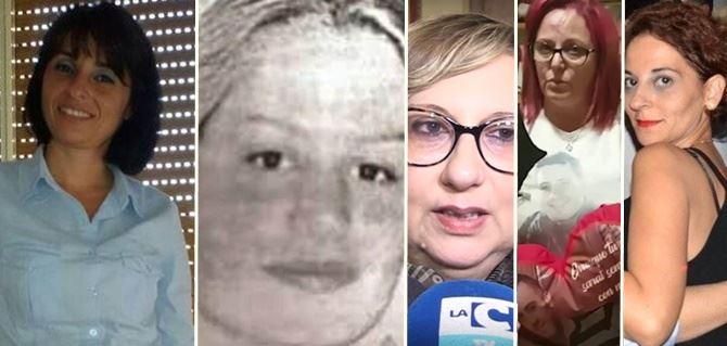 Maria Chindamo, Lisa Gabriele, Marzia Luccisano, Elsa Tavella e Caterina Virrillo