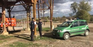 Sequestrati due impianti di produzione calcestruzzo tra Lattarico e Luzzi