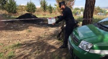 Combustione illecita di rifiuti, quattro persone denunciate a Montalto