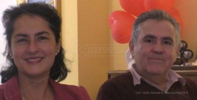 José De Cesare e sua moglie Carolina