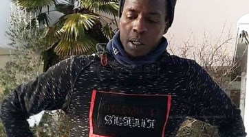 Il giovane Keita Ousmane