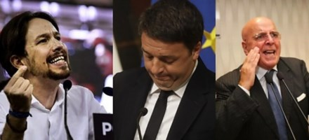 Podemos, Renzi e Oliverio