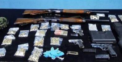 Controllo del territorio, trovate armi e droga dai carabinieri di Reggio