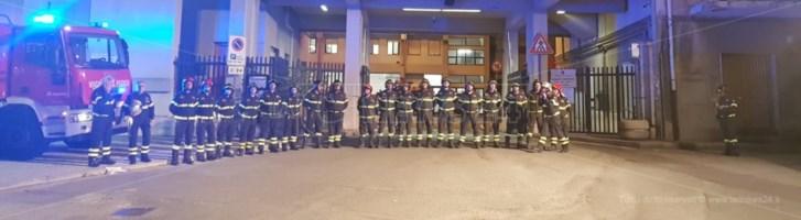 «Nino Candido è nato vigile del fuoco». Il commosso ricordo del pompiere morto