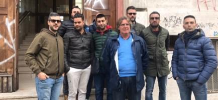 La delegazione degli autisti del 118 di Crotone a Cosenza