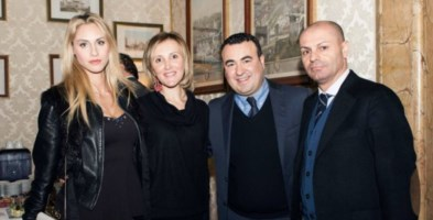 Da destra, Mauro Nicastri, Cataldo Calabretta, Rosangela Cesareo