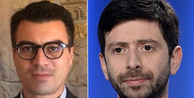 Gianluca Callipo e Roberto Speranza