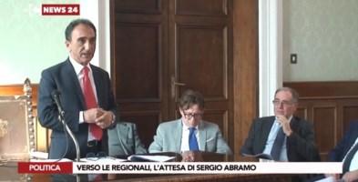 Regionali, Abramo ostenta sicurezza: «Candidati? Parliamo prima di progetti»