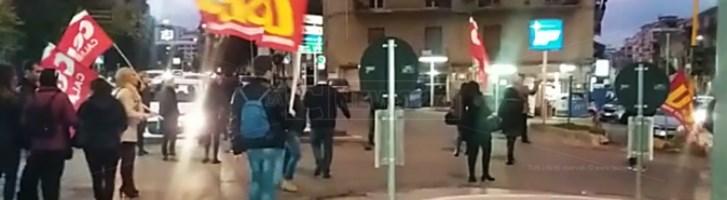 Corteo di protesta a Cosenza