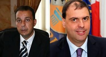 I consiglieri regionali Nucera e D'Acri