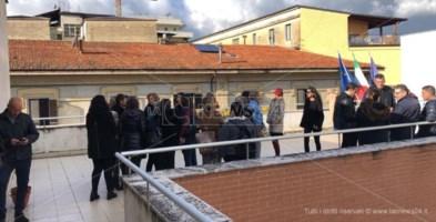 I lavoratori sul tetto