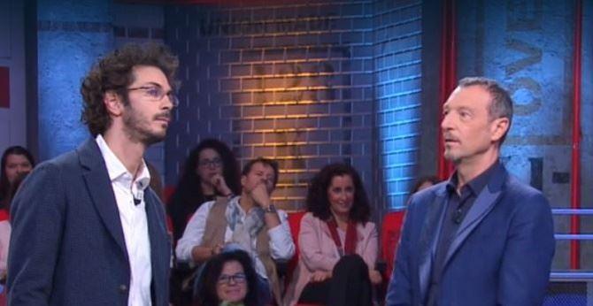 Maurizio Sio con Amadeus