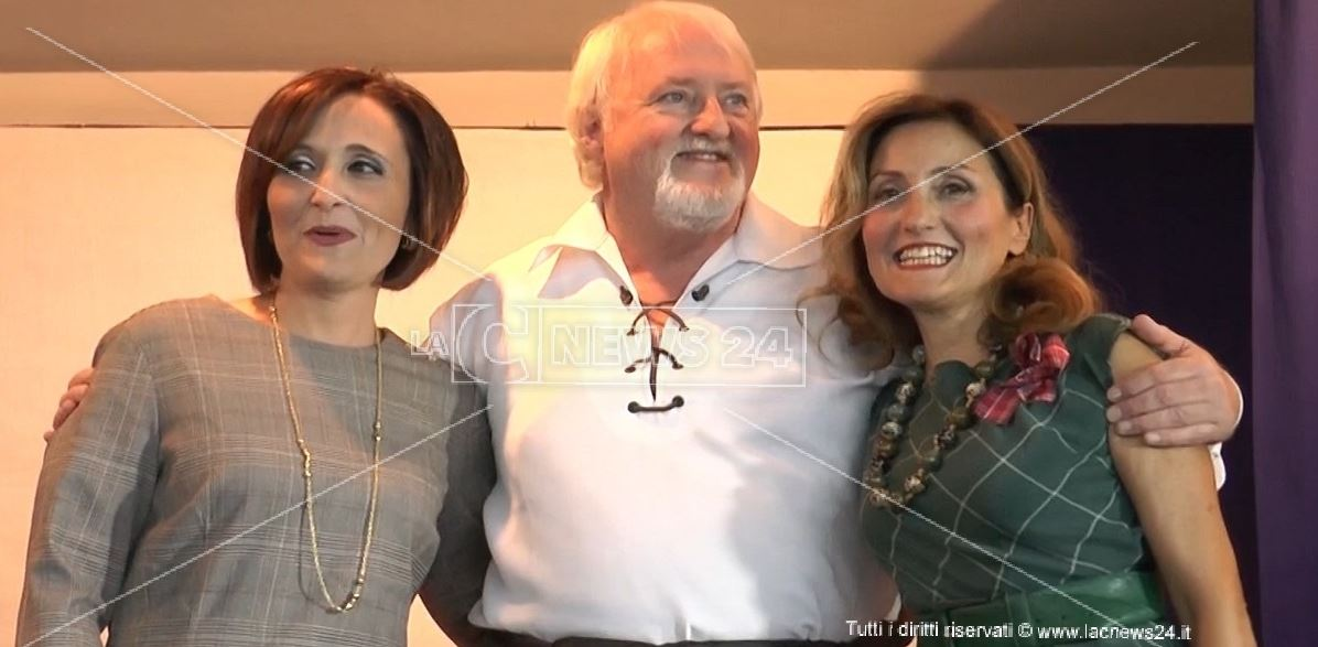 In foto: Maria Carmen Aloi, Ronnie Mccorrisken, Vittoria Camobreco