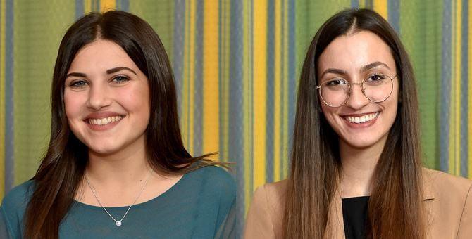 Sofia Zanelli e Anna Accorinti