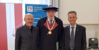 Nicola Leone professore ad honorem di Informatica al Politecnico di Vienna