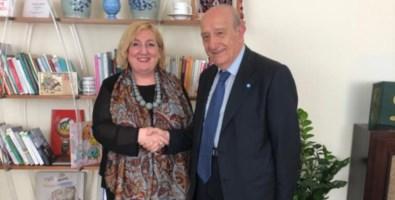 Unicef e Farnesina, Samengo incontra il viceministro Del Re