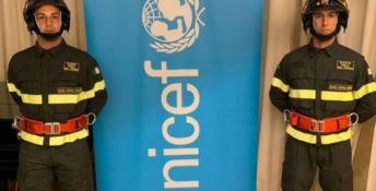 Unicef e Vigili del fuoco insieme per i diritti di bambini e adolescenti