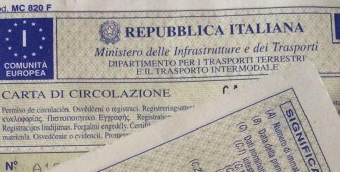 Una carta di circolazione