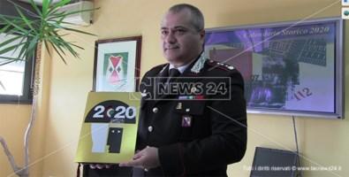 Dodici storie di eroismo quotidiano nel calendario 2020 dell'Arma dei Carabinieri