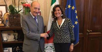 Unicef, Samengo incontra la presidente del Senato Casellati