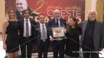 All'amministratore delegato dell'Inter il premio alla memoria di Oreste Granillo
