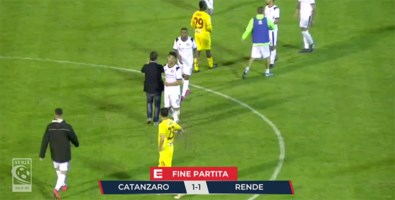 Serie C, crisi Catanzaro: solo un pari in rimonta contro il Rende