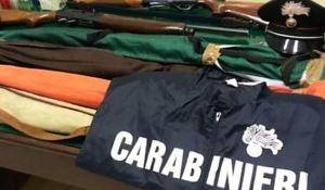 Fucili sequestrati nel Crotonese